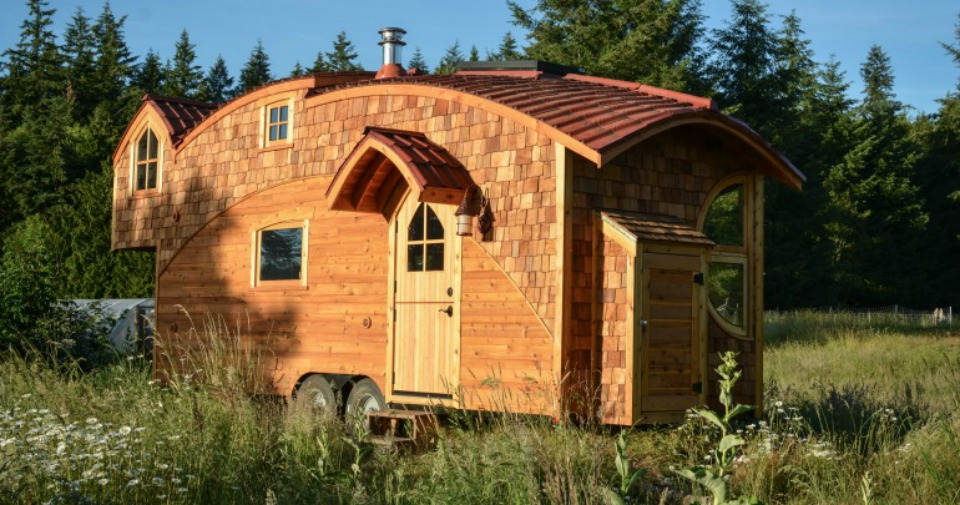 Peachy Beautiful Tiny Houses That Will Tempt You To Hit The Road Largest Home Design Picture Inspirations Pitcheantrous