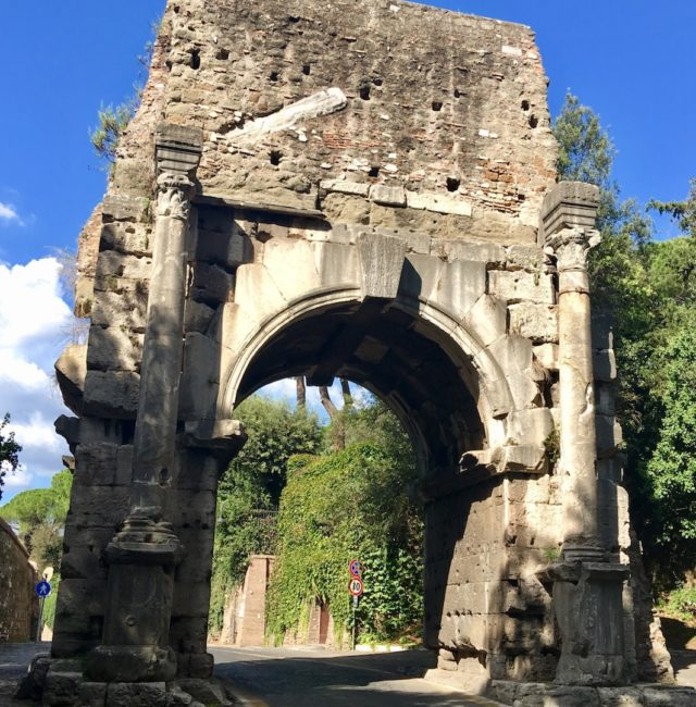 Arch of Drufus along the Appian Way