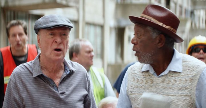 Michael Caine and Morgan Freeman are bank-robbing pensioners with style