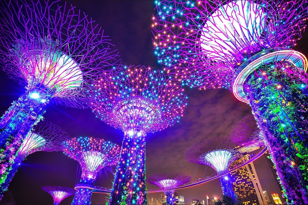The magnificent Gardens By the Bay in Singapore