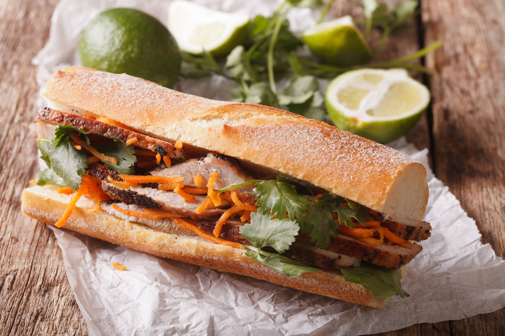 Sink your teeth into a banh mi and you won't regret it