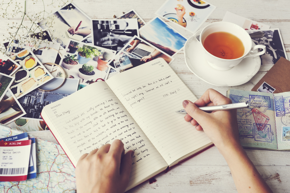A blog is a great place to keep all of your photos and musings