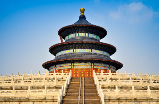 Historical sites in China