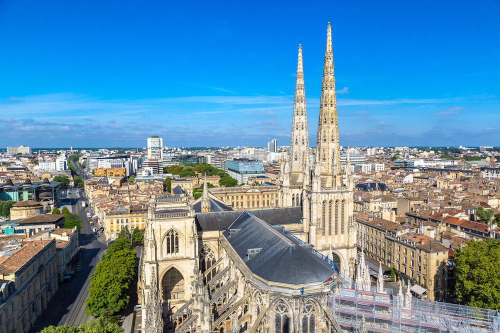 The beautiful city of Bordeaux