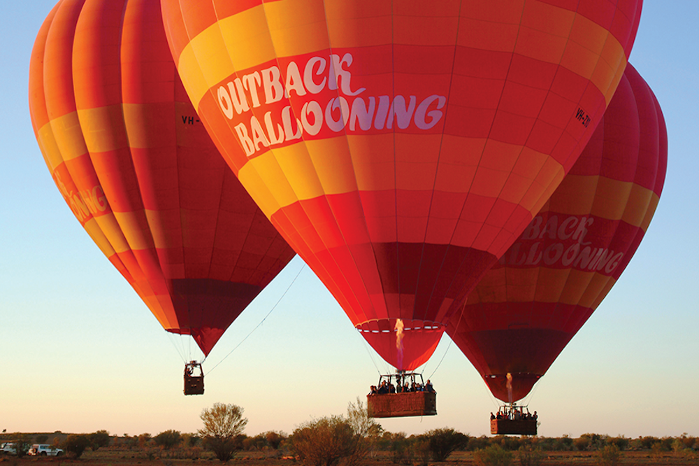 outback ballooning holiday deal