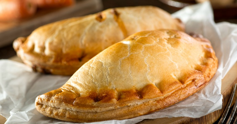 Classic cornish pasties starts at 60 for Classic starter recipes