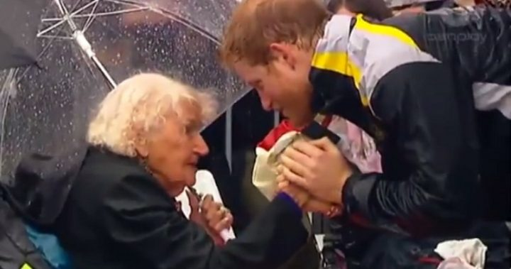 Prince Harry pays tribute to terror victims