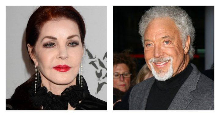 priscilla presley and tom jones