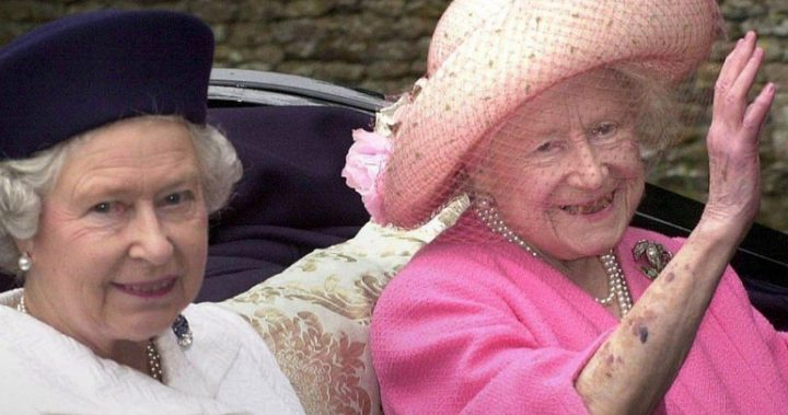 queen mother honoured in photo tribute on birthday