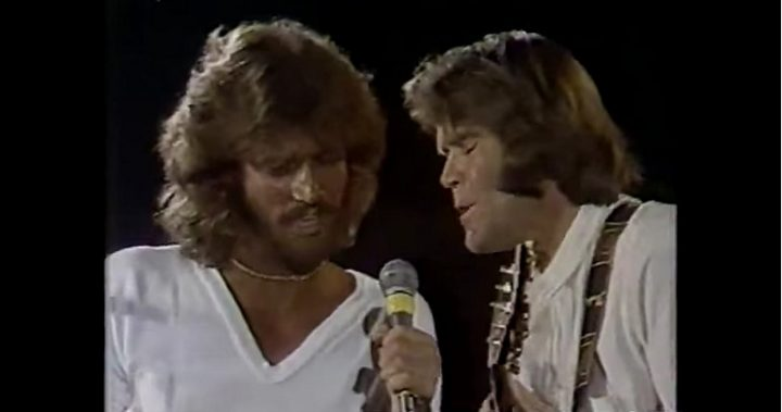 Barry Gibb and Glen Campbell