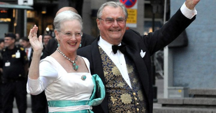 Queen Margrethe II and Prince Henrik of Denmark.