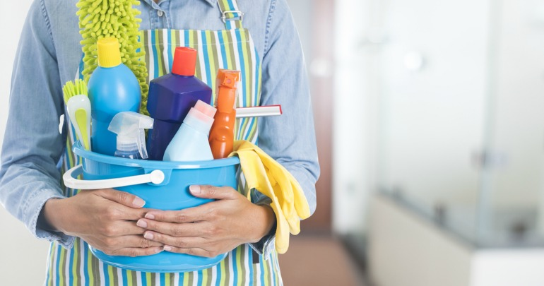 Make Your Own Cleaning Products For Around The Home