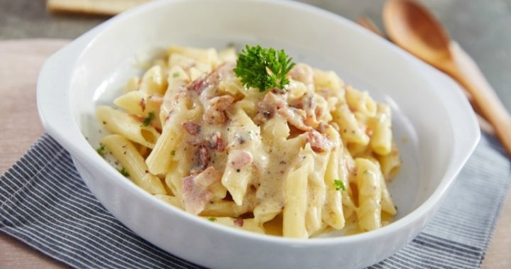 The best penne carbonara