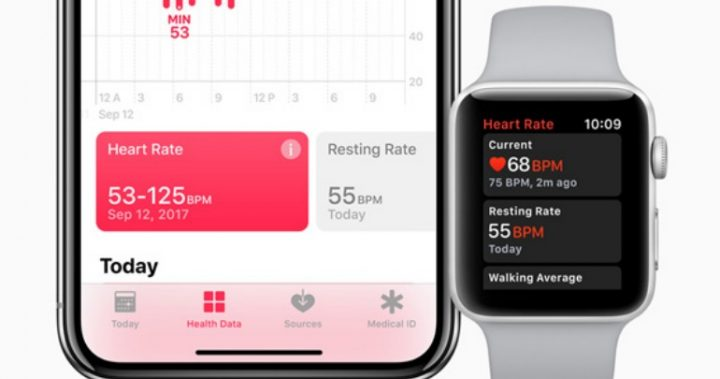 Apple's updated its Heart Rate app. Source Apple