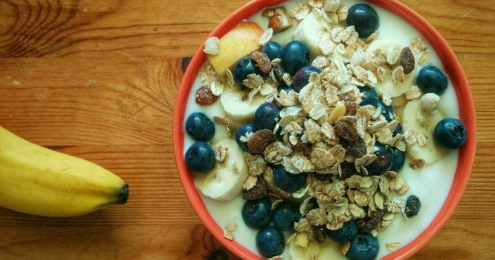 Perfect breakfast muesli