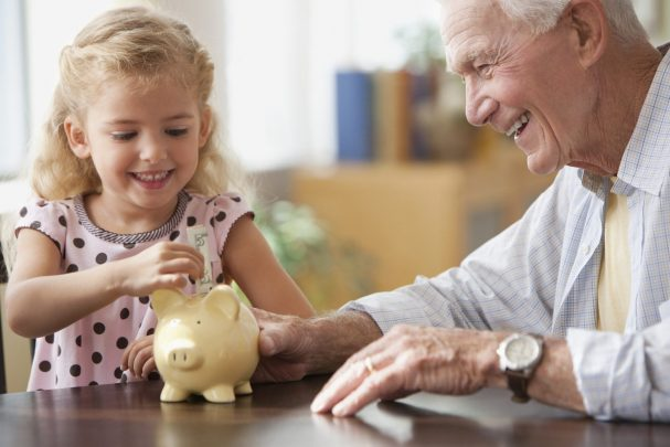 Grandparents know best: The 20 top money tips all kids need to learn