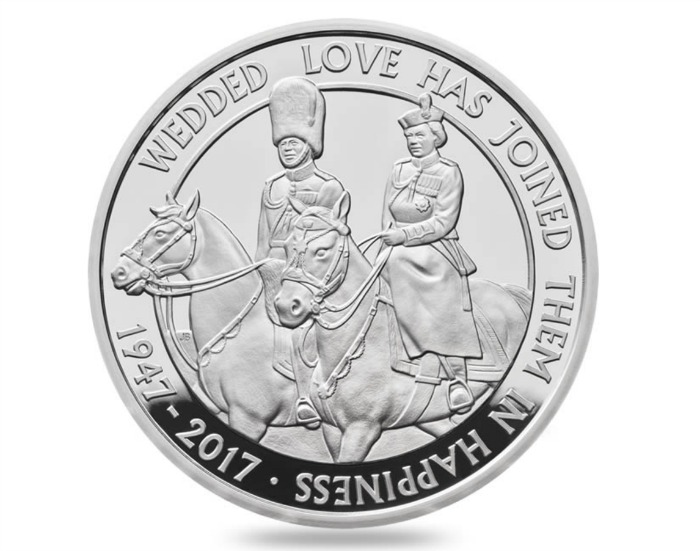 queen anniversary coin