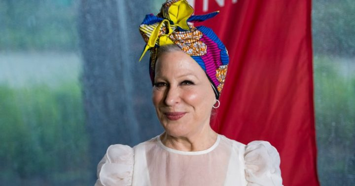 Bette Midler's got a fashion problem plenty of ladies can relate to