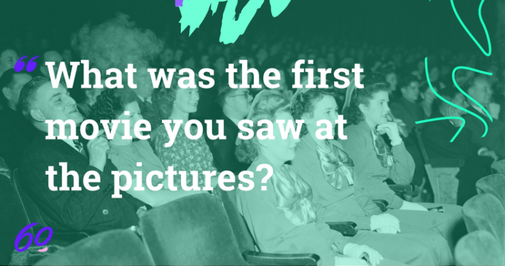 What was the first movie you saw at the pictures?