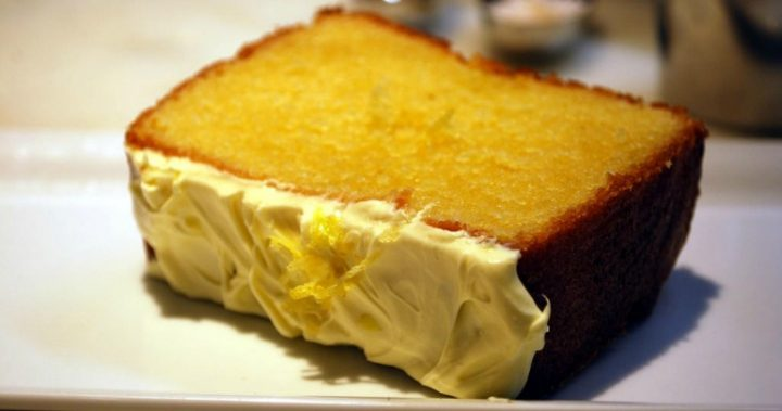 Lemon and coconut loaf