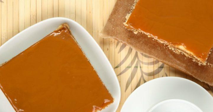 caramilk slice