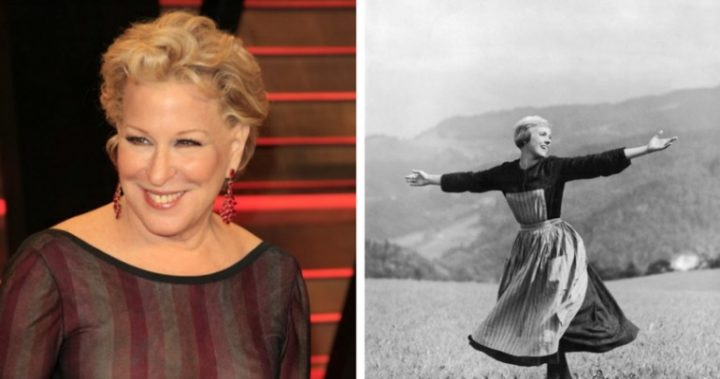 Bette Midler edits guns into 'Sound of Music' scene in powerful protest against the NRA And Trump