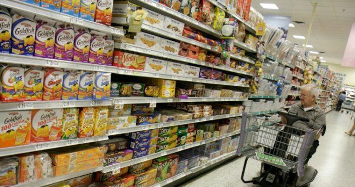 supermarket biscuit cookie aisle