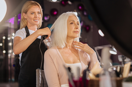 Gorgeous grey: Hair pro says 'ignore the rules' when ditching the dye
