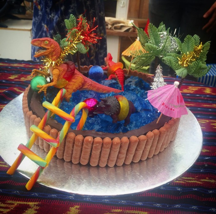 An Iconic Pool Cake Photo Claire Davie The Australian Womens Weekly Childrens Birthday Book Is Awesome Facebook Page