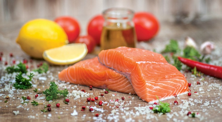 Wild-caught salmon is one of the best foods for both your mood and brain health.