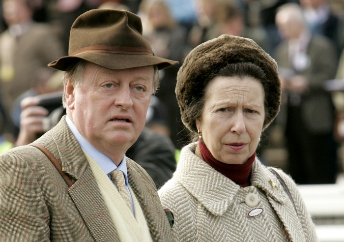 Princess Anne has remained friends with Andrew Parker Bowles. Source: Getty.