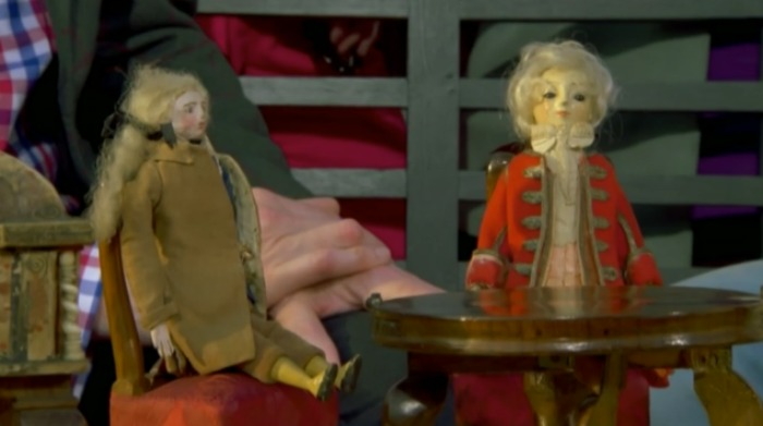 The 18th Century Dolls House was valued at 150,000. Source: BBC/Antiques Roadshow.