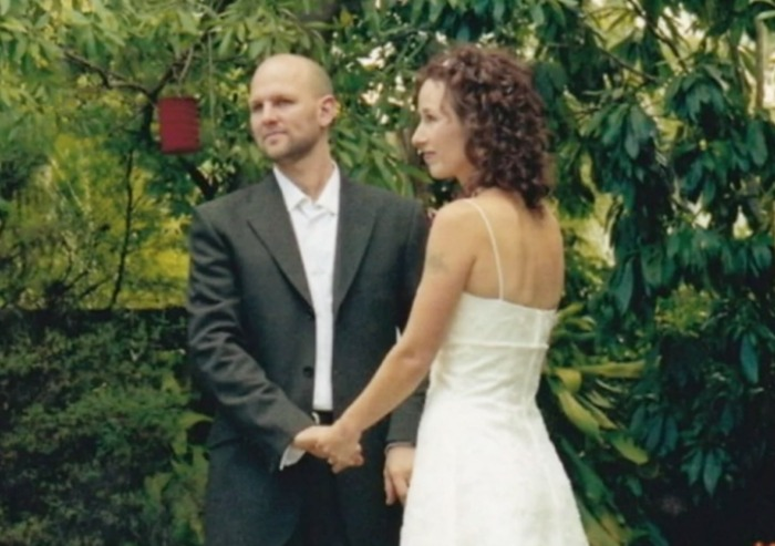 Matt Golinski with wife Rachael. Source: ABC/Australian Story.