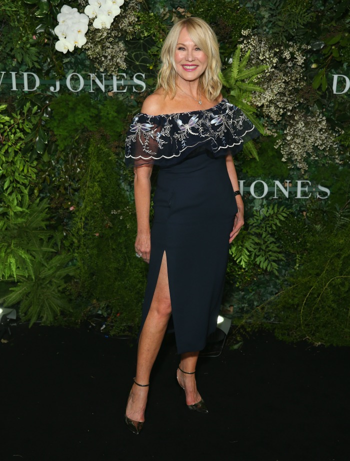 Kerri-Anne attends the David Jones Spring Summer 18 Collections Launch