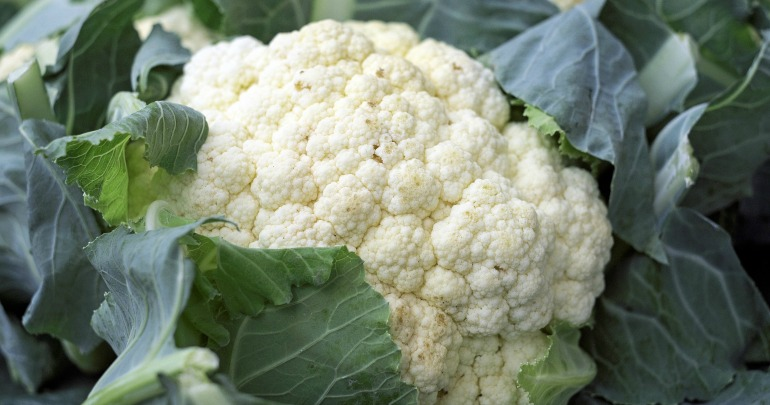 Cauliflower is another healthy and hydrating food to add in your diet. Source: Pixabay