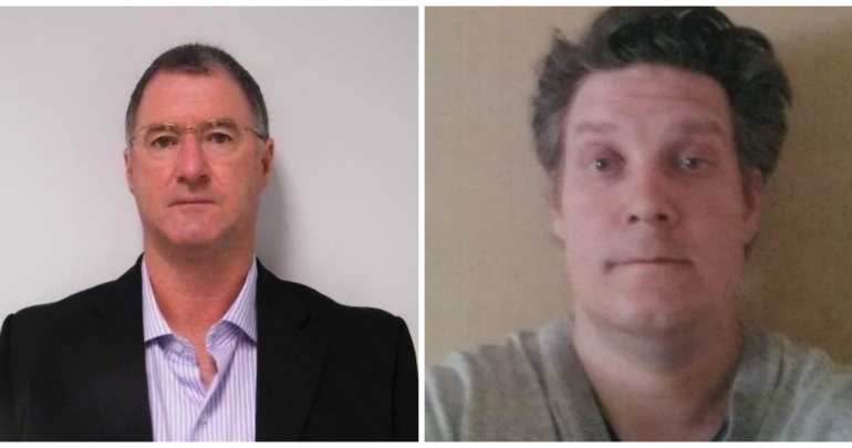 Graham Gene Potter (left) and Jonathon Edward Dick (right) are both wanted. Source: rogueradar.com.au.