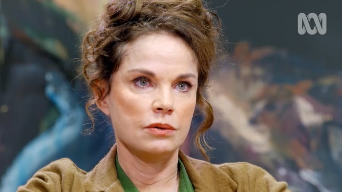 Sigrid Thornton gave a deeply moving chat. Source: ABC/Anh's Brush With Fame.