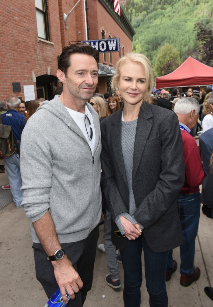 Nicole Kidman and Hugh Jackman red carpet