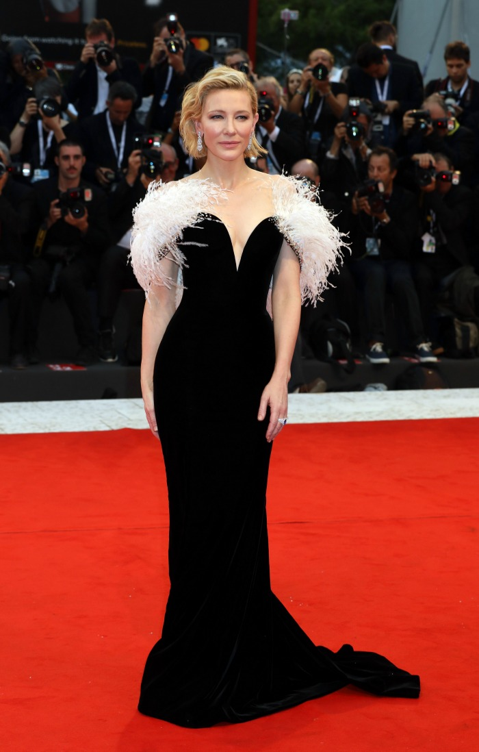 Cate dressed to impress on the red carpet at the Venice Film Festival.