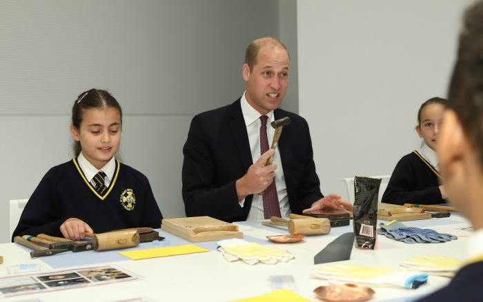 William, Duke Of Cambridge attends The Grand Opening of Japan House London.