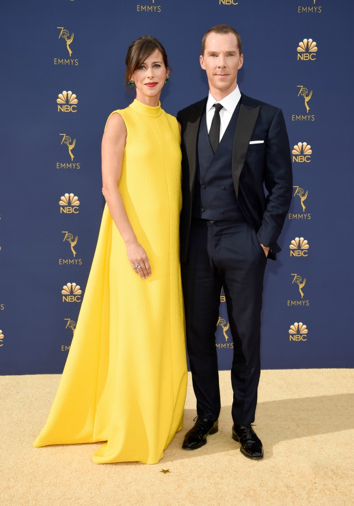 Benedict Cumberbatch and wife Sophie looked incredible. Source: Getty.