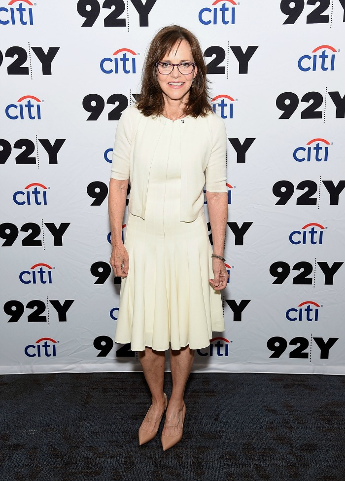Sally Field appeared at 92nd Street Y ahead of the release of her new book.