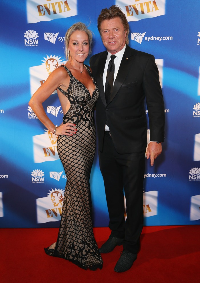 Richard Wilkins and Virginia Burmeister stepped out for a red carpet event in Sydney.