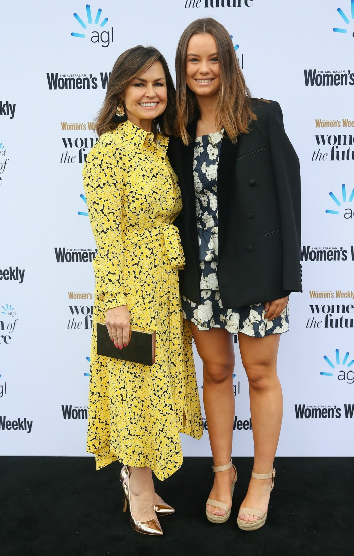 Lisa Wilkinson and daughter Billi posed together.