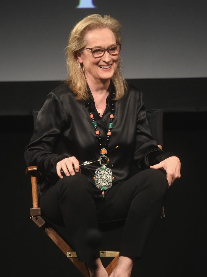 Meryl Streep showed off her style at the Tribeca TV Festival in New York City