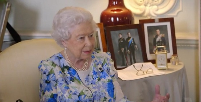 Her Majesty was praised for her witty sense of humour. Source: Channel 7/Queen Of The World.