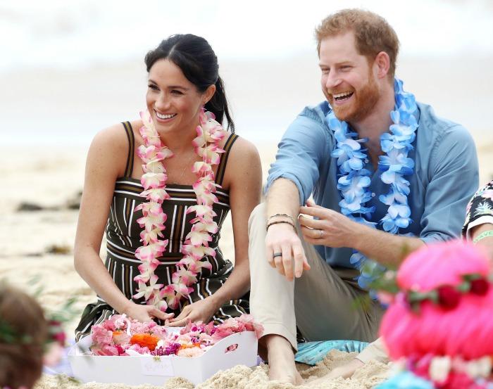 Prince Harry Meghan Markle Bondi Beach