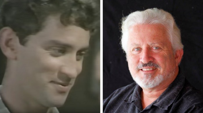Steven Tandy played a young Tom. Source: YouTube/70sammybaby (left) and Facebook/Steven Tandy (right).