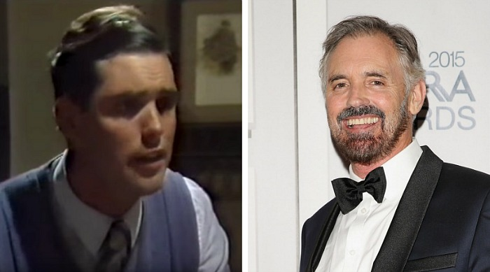 Andrew McFarlane played John on the show. Source: YouTube/keksle75 and Getty (right).