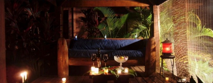 The Bali Hut is a tranquil area to relax and unwind. Source: naturism.noosa-edge-paradise.com.